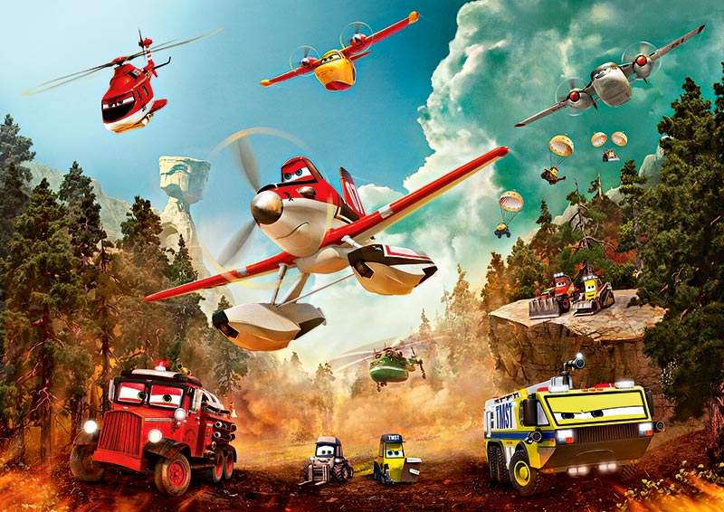 《Planes:Fire and  Rescue》