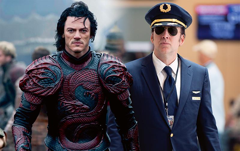 """2位生活在截然不同年代的王子""""Vlad Tepes""""Luke Evans和飞机师""""Rayford Steele""""Nicolas Cage同在本周,被迫得在危机中做出抉择,当一次""""不死""""英雄。"""