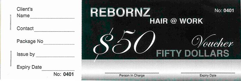UW+Rebornz Hair  @ Work 送10份发廊礼券 截止日期:10月13日