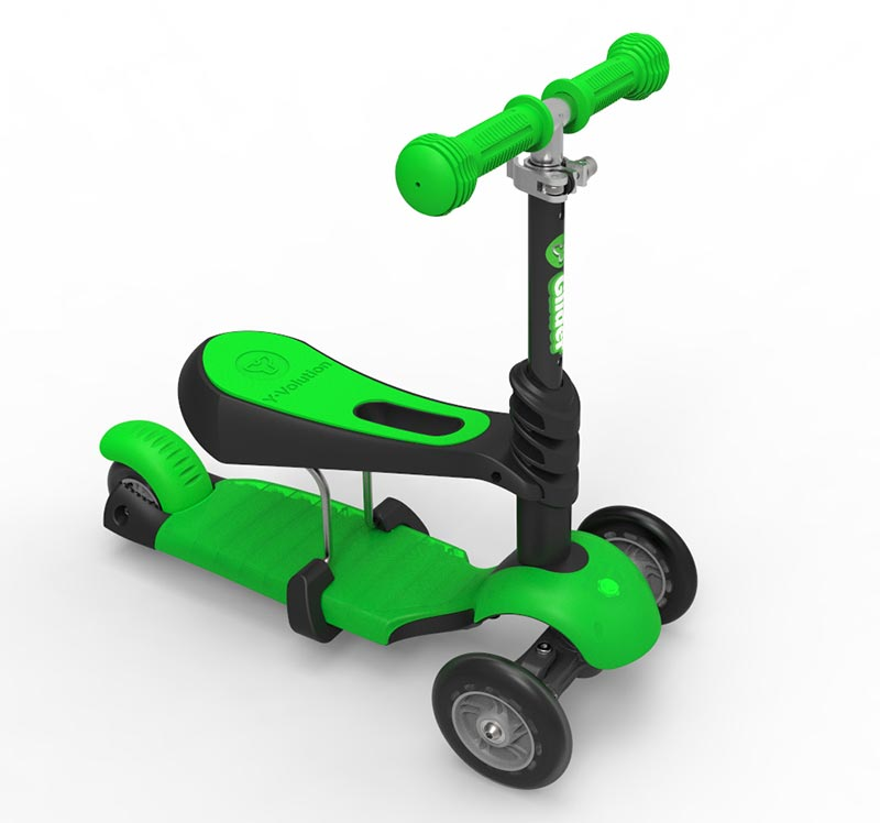滑板车Y-Glider 3-in-1 Scooter(适合1至5岁宝宝)