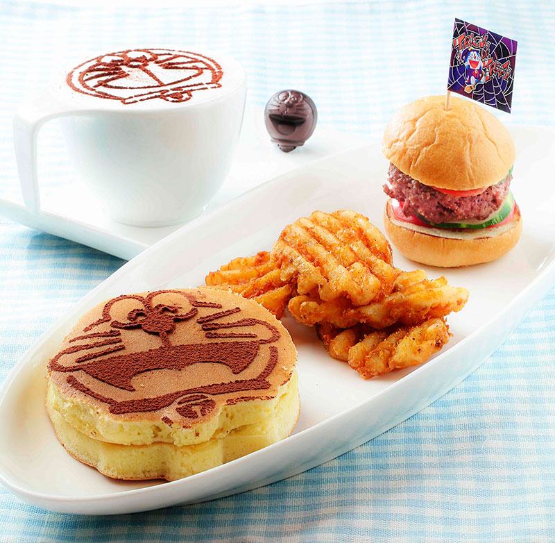 Ocean ParkMini Burger with Butter Hotcake and Cross Cut Fries