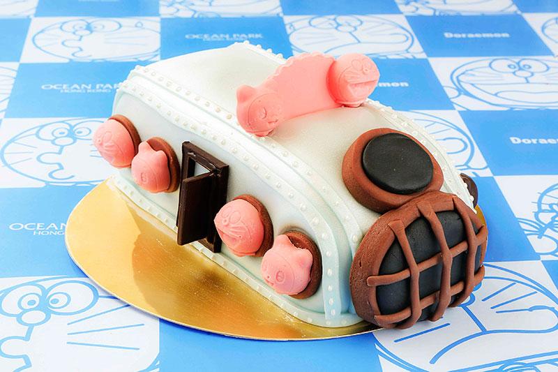 Ocean Park Doraemon Chocolate Mousse Cake