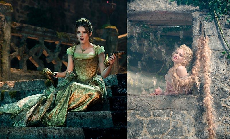 独立公主们 Anna Kendrick(30岁)和Mackenzie Mauzy(26岁)分别饰演犹豫不决的灰姑娘和果断的长发公主,稍改大家印象中的公主个性。