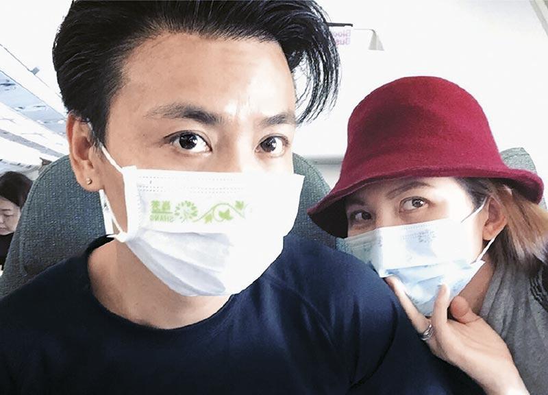 还没病好的张晋带了老婆一齐飞往北京出席《一代宗师3D 》首映,活动上他一脸倦容,返港翌日便入院检查。