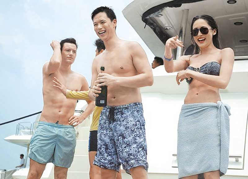 Phil开游艇派对,出动3只游艇,玩都玩得霸气过人。