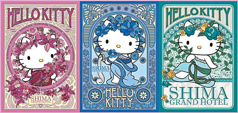 """""""罗马女神风""""造型的Kitty,感觉非常创新!"""