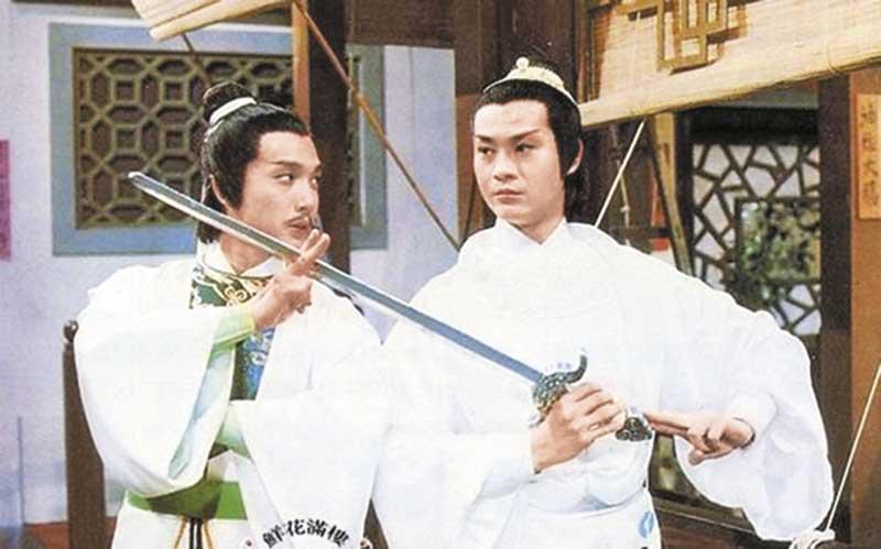 77年 《陆小凤》不和 《陆小凤》是刘松仁招牌作,77年无线于续篇《陆小凤之决战前夕》中安插秋官演叶孤城,秋、松自此互有心病。