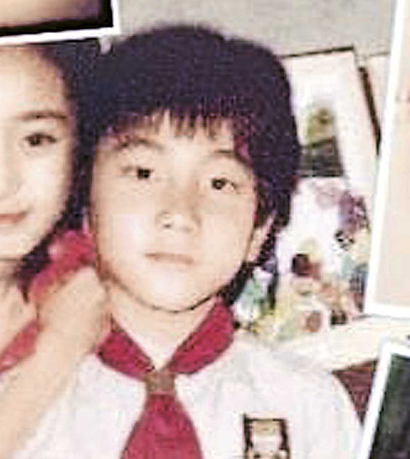 """""""小糯米""""样貌跟童年刘恺威很相似。"""