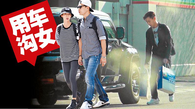12月初,陈展鹏把新车大肆改装,直至月中,才首次见他驾新车回无线开工。