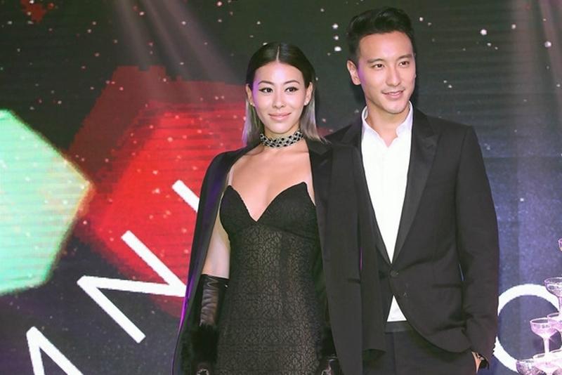 王阳明、蔡诗芸婚后首度同台亮相。(网络照片)