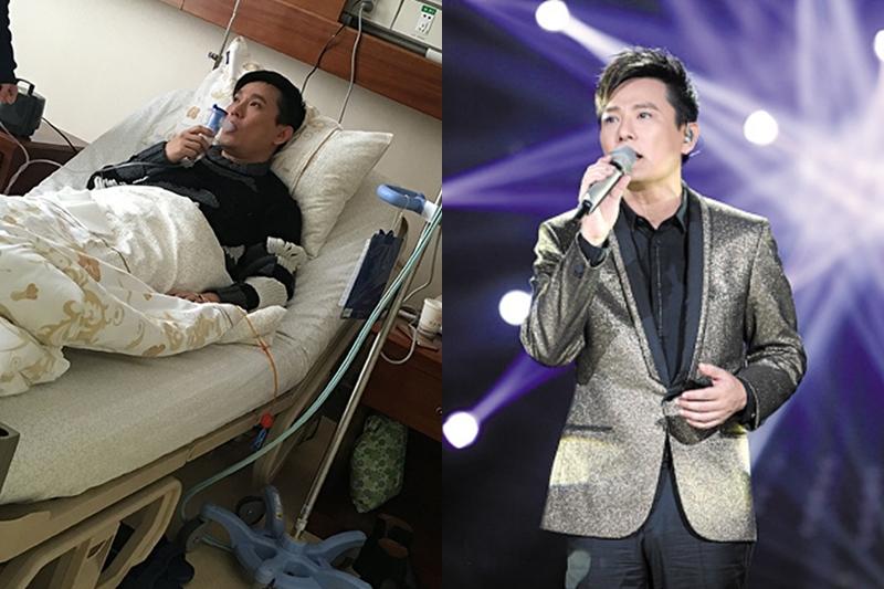 张信哲抱病参加《我是歌手4》。(网路照片)