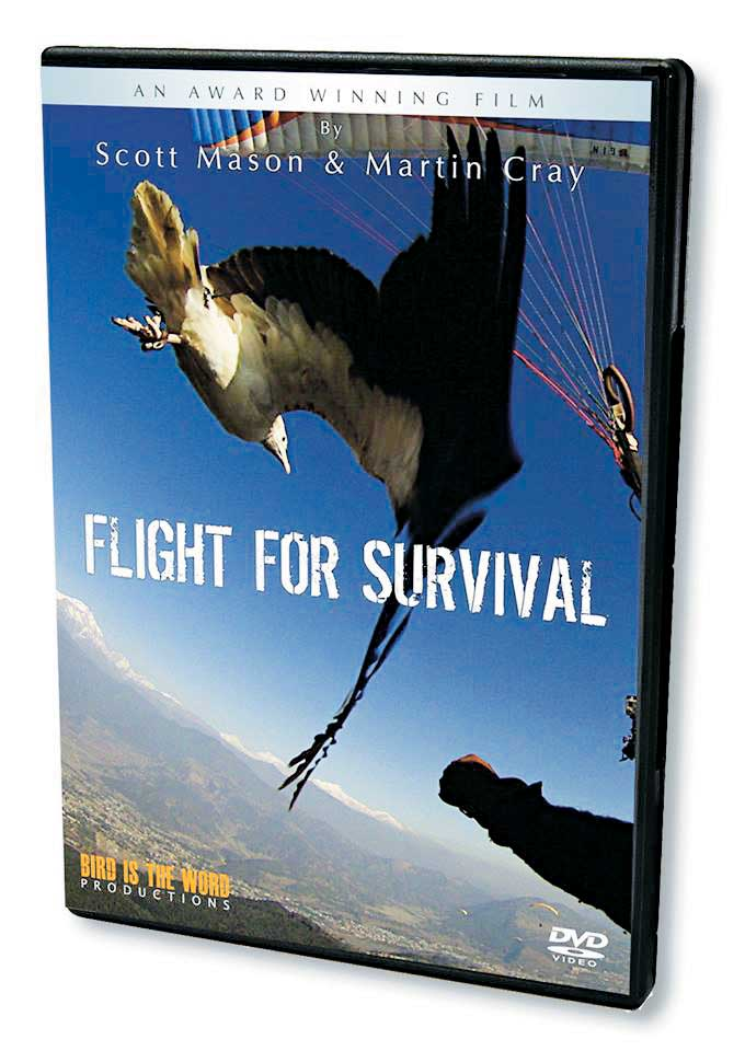 Parahawking的故事曾经拍成电影《Flight for Survival 》,十分威风!