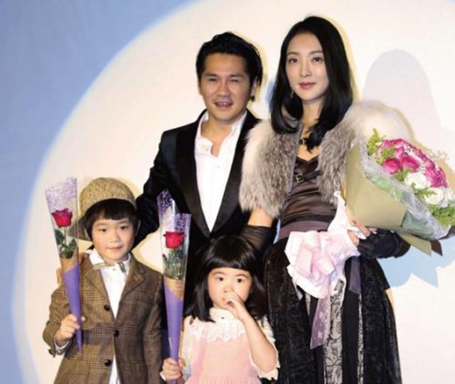 Gary曹格与老婆和孩子。(互联网)