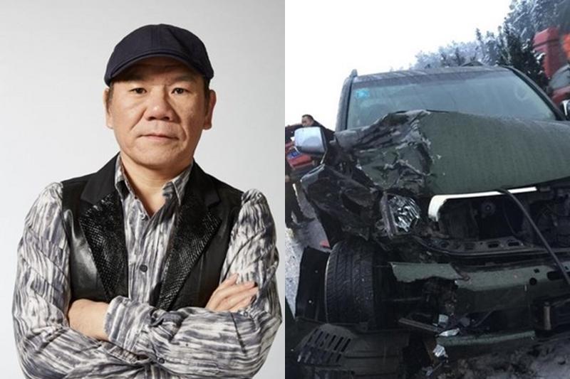 赵传赶《我是歌手4》录影遇车祸,所幸已无大碍。(互联网)