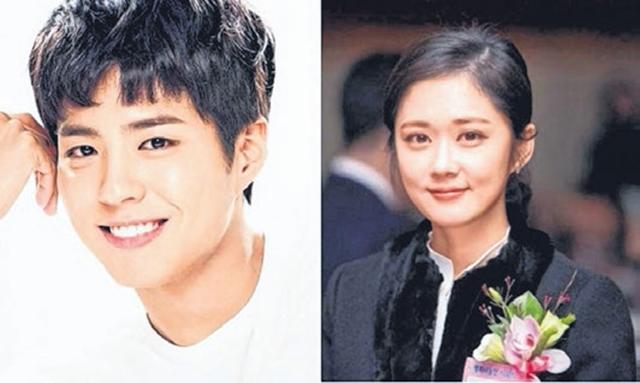 朴宝剑(左)强调与张娜拉的姐弟恋绯闻只是谣传。(互联网)