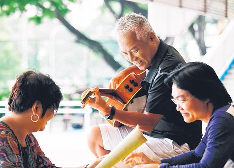 巫启贤参与《我们唱着的歌》。(GVP提供)