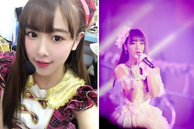 SNH48唐安琪遭火吻。(互联网)