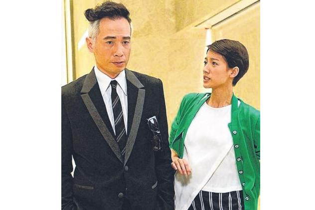 陈豪与蔡思贝搭档演出《潮流教主》。(互联网)