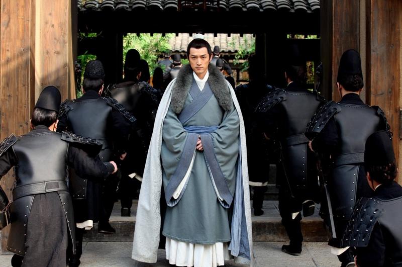 """胡歌在《琅琊榜》中饰演""""梅长苏""""一角再次窜红。(互联网)"""