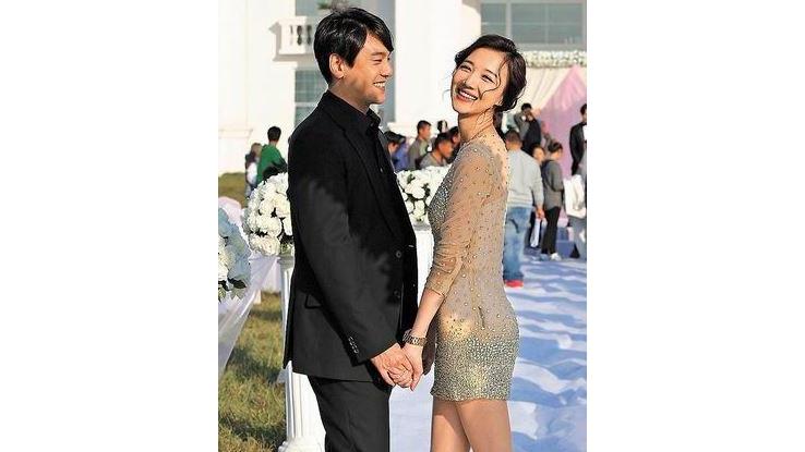 朱孝天被爆和中国女星韩雯雯在渖阳领证结婚。(互联网)