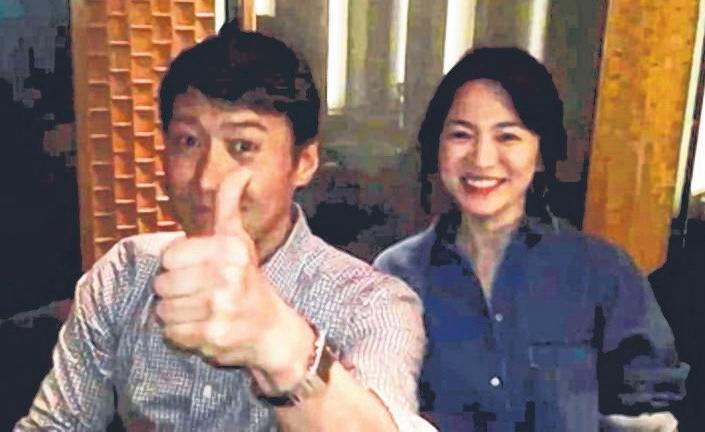 天王黎明和宋慧乔相识超过十年。(互联网)