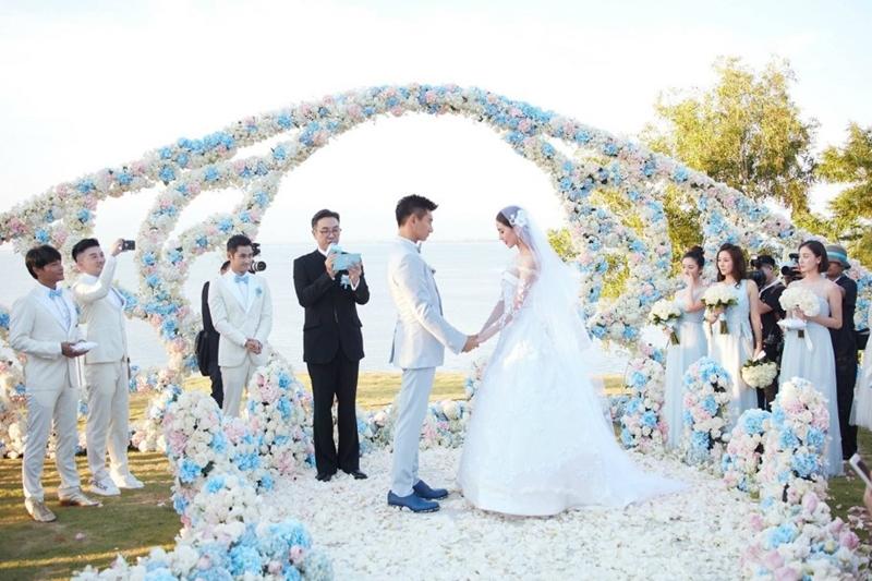 吴奇隆和刘诗诗3月20日举行世纪婚礼。(互联网)