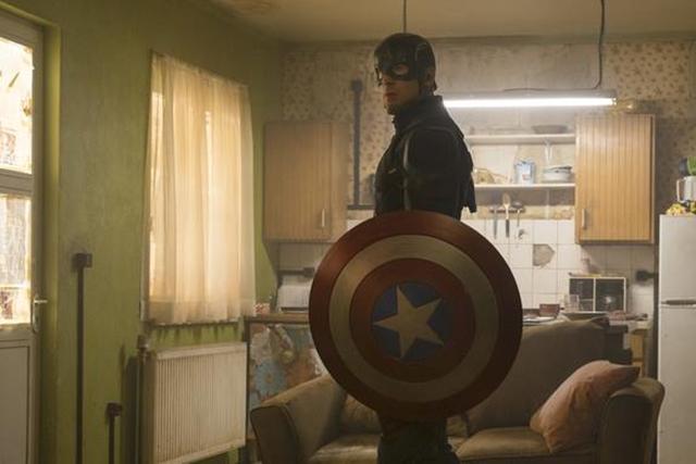 Chris Evans饰Captain America。(Marvel 提供)