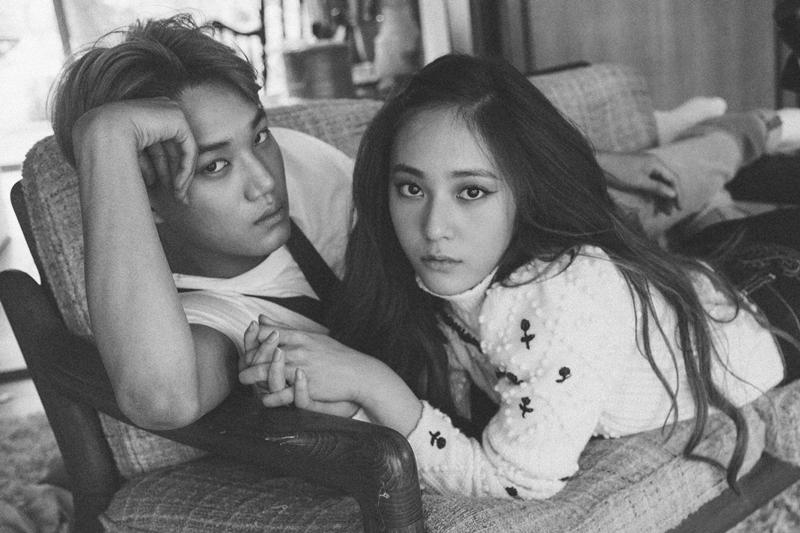 KAI和Krystal为W Korea拍摄写真。(互联网/W Korea)