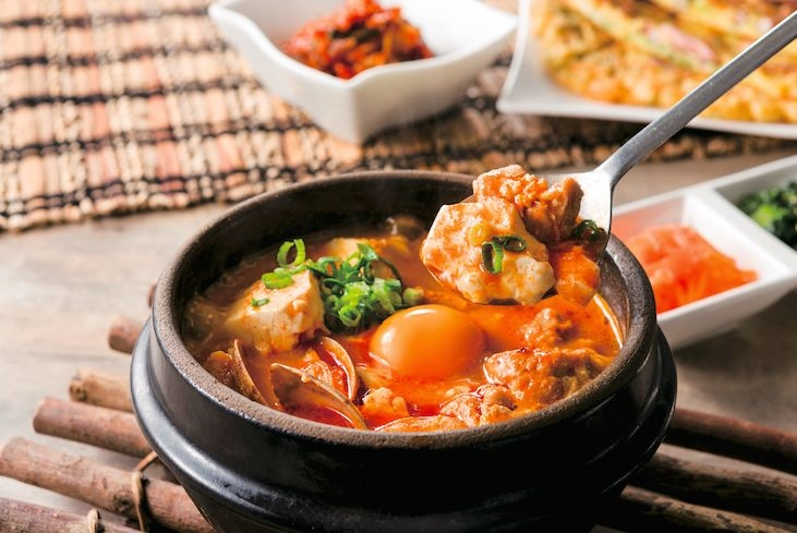 东京纯豆腐主打饱含胶原蛋白的纯豆腐。