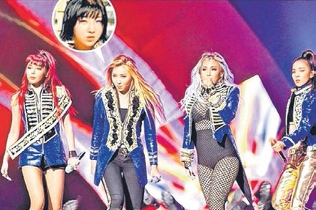 自前年朴春(左一)涉嫌染毒后,2NE1的团体活动连带宣告停摆。(互联网)
