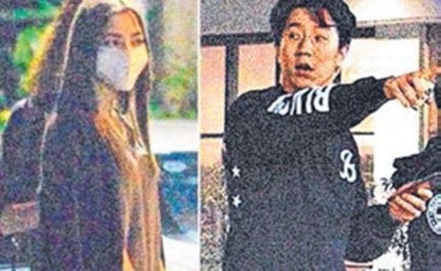 房祖名被拍到与19岁新欢一起外出。(互联网)