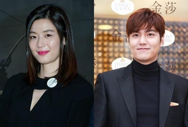 全智贤与李敏镐有望搭档出演SBS新剧。(互联网)