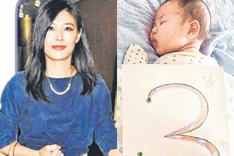 苏慧伦在儿子满一岁后复出。(互联网)