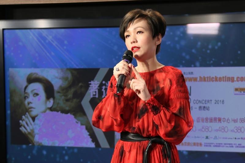 陈洁仪笑言过了40岁要更照顾自己健康。(互联网)