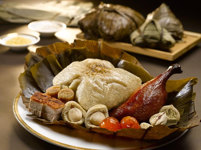 宴庭的鲍鱼仔裹蒸粽应殷切需求再度推出。