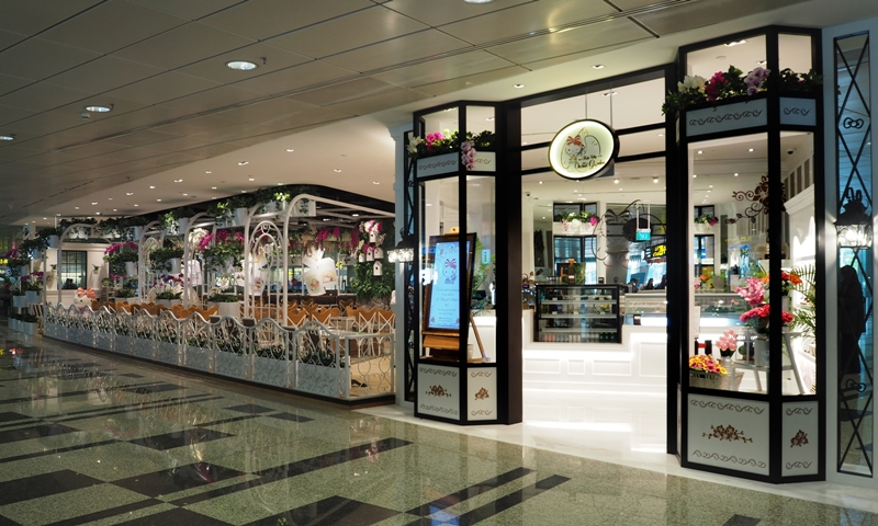 Hello Kitty Orchid Garden- Store Front