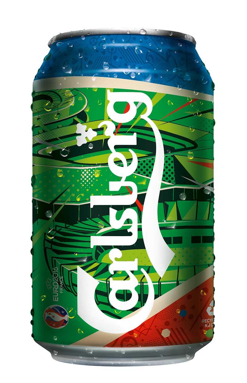 限量版欧洲杯12灌装啤酒