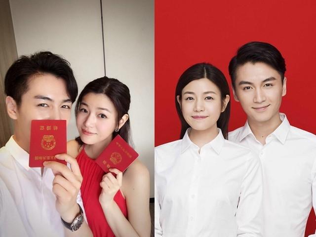 陈晓乘今天29岁生日,与陈妍希注册结婚。(互联网)