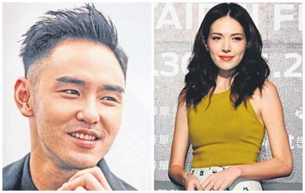 许玮宁(右)去年和阮经天(左)结束长达八年恋情,近日传出两人感情似有回温迹象。(互联网)