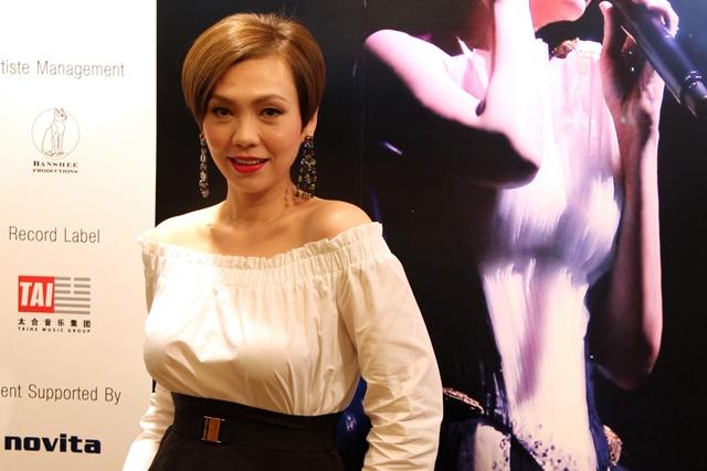 陈洁仪将在9月10日在新加坡举办最后一站《着迷•陈洁仪》演唱会!