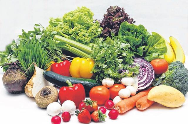 蔬果有助于抗皱美肤,让你吃出好肌肤。(档案照片)