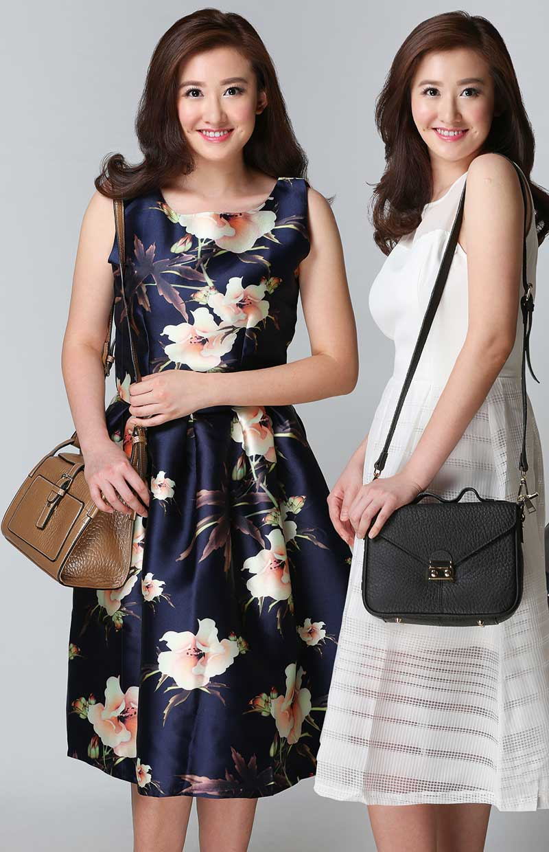 (左)Pazzion Bronze别具一格,搭配深色长裙能衬托颜色的层次,还让人眼前一亮。 (右)Pazzion Black的经典设计突出优雅大方,露出非凡的韵味。