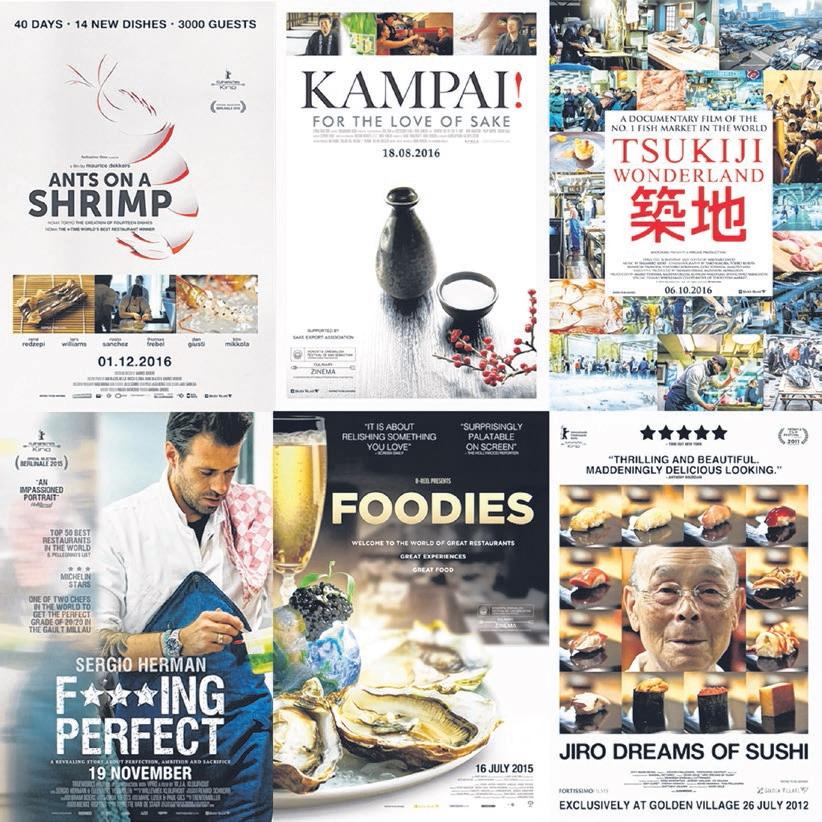 餐饮业的朋友绝不能错过这6部精彩的纪录片。(嘉华影院提供)