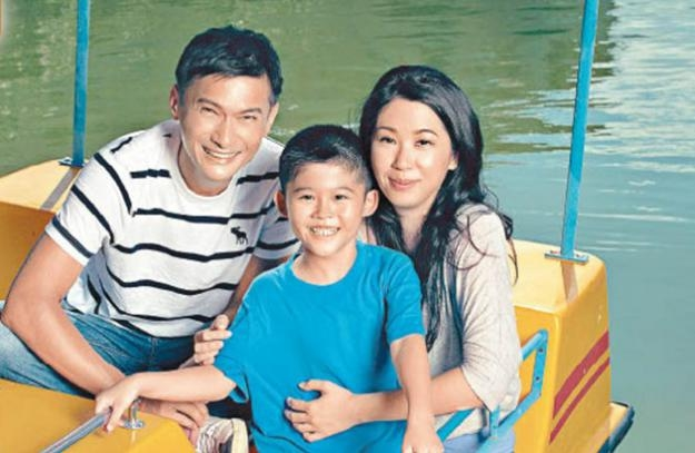 陈锦鸿为自闭症儿子放弃演艺事业。(互联网)