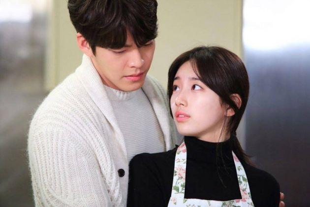 金宇彬和秀智主演的《任意依恋》收视下滑。(互联网)