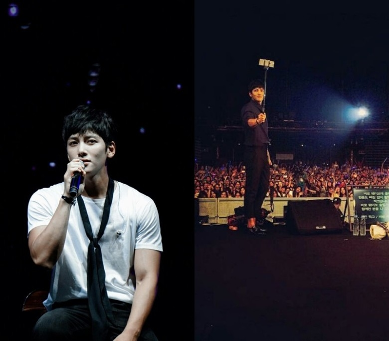 池昌旭在演唱会上为粉丝献唱多首华语歌曲。(互联网)