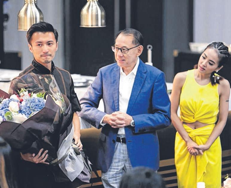 谢霆锋(左起)、杨受成、蔡依林。(互联网)