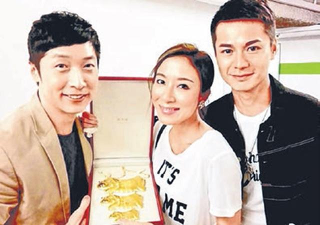 马浚伟(左起)、杨怡和罗仲谦。(互联网)