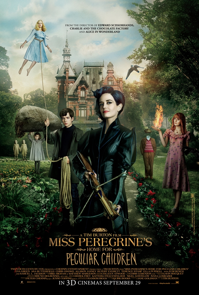 MISS PEREGRINE'S HOME FOR PECULIAR CHILDREN © 2016 Twentieth Century Fox Film Corporation.  All rights reserved.