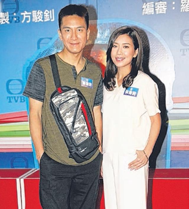 马国明(左)和黄智雯出演《降魔的》。(互联网)